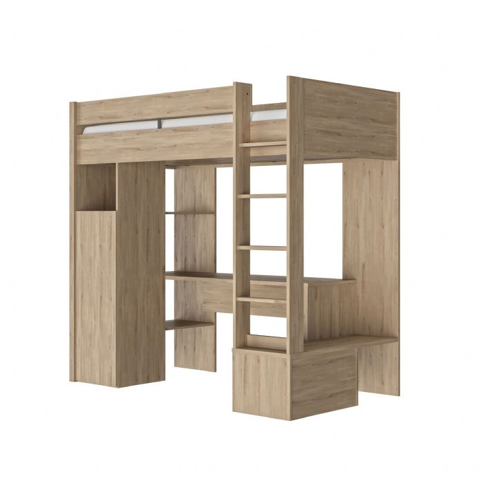 Ethan High Euro Single Bed